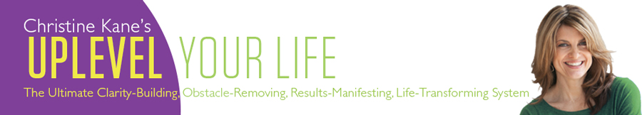 Uplevel Your Life 2013 banner