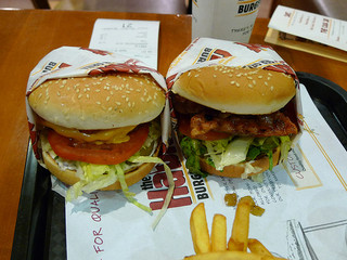 Bacon Cheeseburger and Teriyaki Burger - The H...
